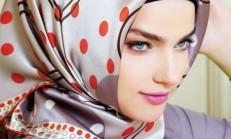 En Güzel Karaca Eşarp Modelleri