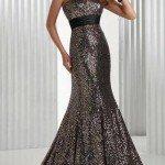 uzun straplez abiye elbise örnekleri