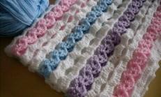 Anlatımlı Kolay Bebek Battaniyesi Yapımı