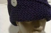 Örgü Düğmeli Şapka Modeli Ve Yapımı