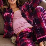 kareli-ekose-kislik-bayan-pijama-modelleri