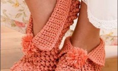 Kışlık Örgü Çorap Modelleri