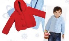 Ana Kuzusu Çocuk Örgü Hırka Modeli Ve Yapımı