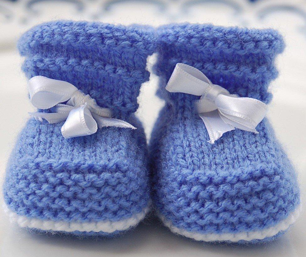 Knitting Patterns For Seamless Baby Booties : kiz-bebekler-icin-patik-modelleri-1 - Bayan Hobileri
