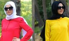 Sefa Merve Tesettür Elbise Modelleri