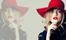 Bayan Fötr Şapka Modelleri