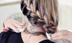 14 Adet Kolay Örgü Saç Modeli