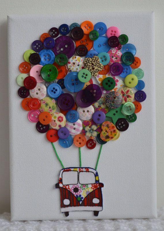 dugme-ile-dekoratif-tablo-yapimi