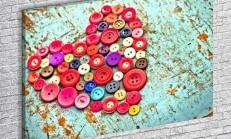 Eski Düğmeler İle Şık Tablolar Nasıl Yapılır ?