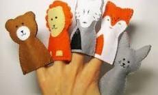 Parmak Kukla Yapımı