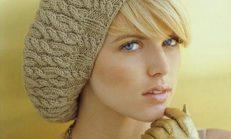 Örgü Bayan Atkı ve Şapka Modelleri