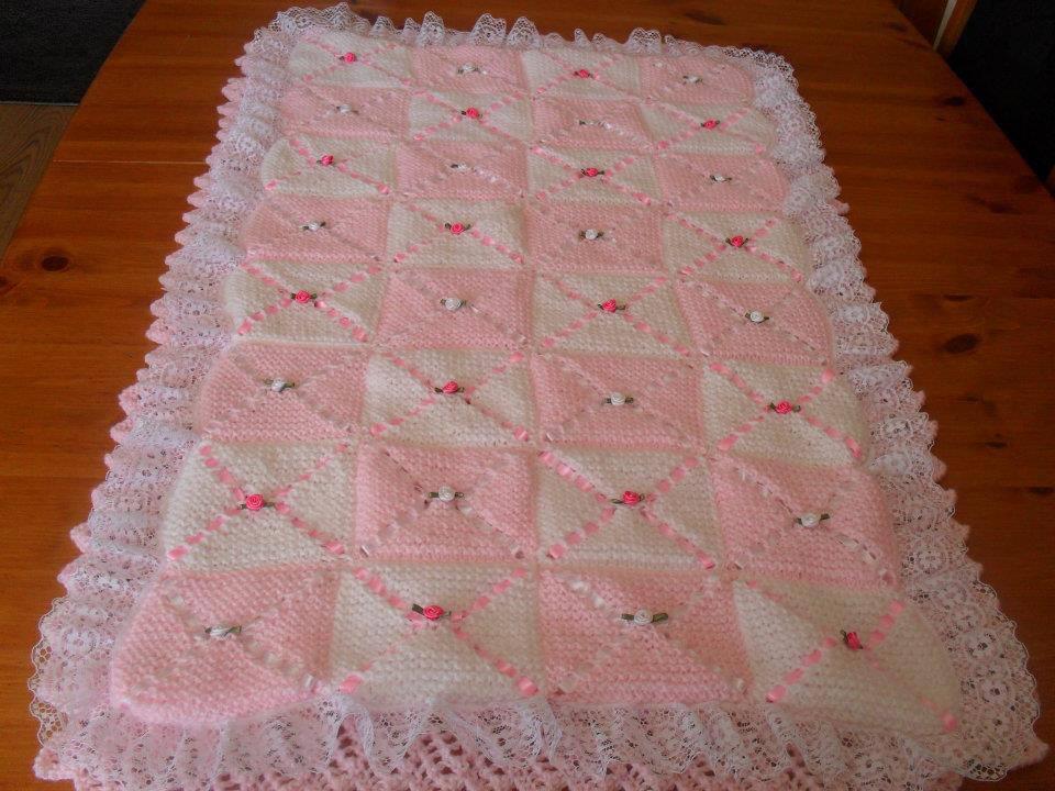 Örgü Bebek Battaniyesi Örnekleri