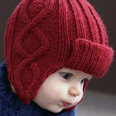 El Örgüsü Bebek Şapka Modelleri