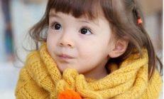 Örgü Bebek Boyunluk Modelleri
