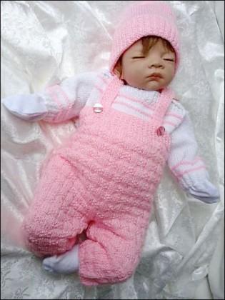 El Örgüsü Bebek Tulumu