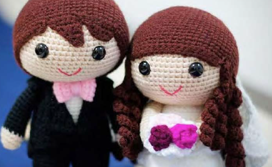 sevimli oyuncaklar dolls&toys: Amigurumi Gelin Damat - Amigurumi ... | 330x537